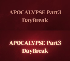 APOCALYPSE Part3 DayBreak